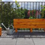 Holz Blumenkästen Balkon